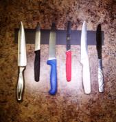 30cm Wall Mount Magnetic Knife Scissor Storage Holder Rack Strip Kitchen Tool