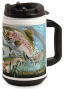 American Expedition 710ml Thermal Mug - RAINBOW TROUT COLLAGE