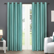 Chatra Grommet Top Curtain Panel Pair