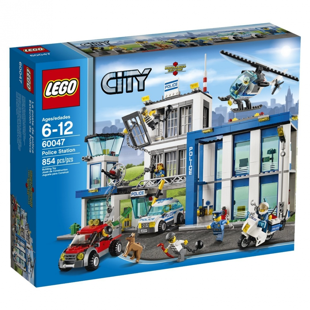 Figures Kids Toys Building Lego Toy For City854pcsPolice Station Block Yy7vI6gmbf