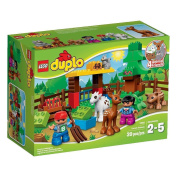 LEGO DUPLO (39pcs) Forest Animals Zoo Toy for Kid Figures Building Block Toys