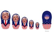 Donald Trump action figures - Pre.