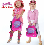 Girls Love Shopafun - Shopkins Compatible Hot Pink Handbag - Soft, Washable, Strong - Carry Pretend Stores - Collections - Real Shopping! Organiser - Toy Tote - Cross-Body Bag - Shoulder Bag - Pockets - Zippered Compartments - Pouch - Adjustable Strap ..