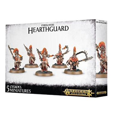 Hearthguard - Fyreslayers - Warhammer: Age of Sigmar