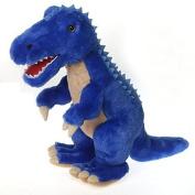 Fiesta Toys Blue T-Rex Dinosaur Plush Stuffed Animal Toy - 47cm