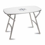 FORMA MARINE Deck Table, Boat Table, Folding, Rectangular, Anodized, Aluminium, Model M250