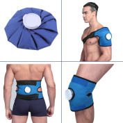 Koo-Care Pain Relief Hot Cold Therapy Reusable Ice Bag Pack & Wrap for Head, Shoulder, Back, Knee etc.