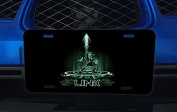 Link Tron Crossover Art Aluminium Licence Plate for Car Truck Vehicles