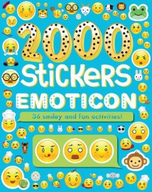 2000 Stickers Emoticon: 36 Smiley and Fun Activities (2000 Stickers)