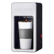Chefman RJ14-M-S-Gr Single Serve Coffee Maker, Grey by Chefman