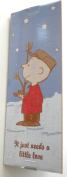 "The Original Peanuts Charlie Brown Christmas Tree 60cm Tall ""It Just Needs A Little Love"""