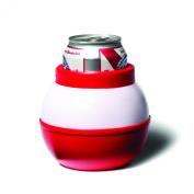 BigMouth Inc Fishing Bobber Drink Kooler, White/Red