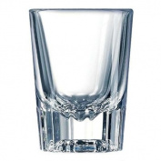 Luminarc Barcraft Fluted Shot Glass (Set of 6), 60ml, Clear