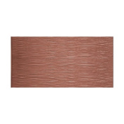Fasade Waves Horizontal Argent Copper 1.2m x 2.4m Wall Panel