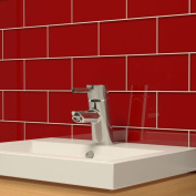 Ruby Red Subway 0.5sqm Tiles