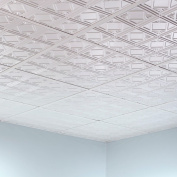 Fasade Traditional Style #4 Matte White 0.2sqm Lay-in Ceiling Tile