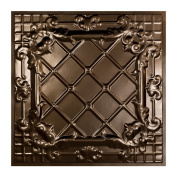 Great Lakes Tin Toledo Bronze Burst 0.6m x 0.6m Lay-In Ceiling Tile