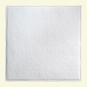 Great Lakes Tin Chicago Matte White 0.6m x 0.6m Nail-Up Ceiling Tile