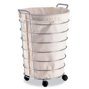Organise It All Jumbo Laundry Basket with Canvas Bag