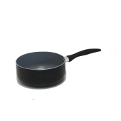 Gourmet Chef 1.7ls Eco-friendly Non-stick Ceramic Sauce Pan with Glass Lid