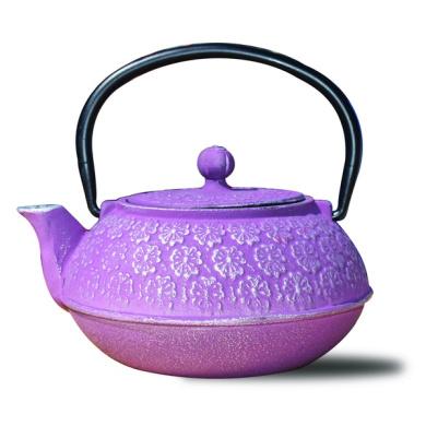 "Plum Cast Iron ""Cherry Blossom"" Teapot, 650ml"