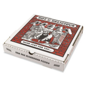 PIZZA Box White Takeout Containers