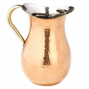 Old Dutch Decor Hammered Copper Water Pitcher