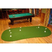 "StarPro 1.8m x 3.7m 5-Hole Game Room Professional Practise Putting Green ""Best in the World."""