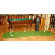 "StarPro 1.2m x 3.7m 5-Hole Mobile Professional Practise Putting Green ""Best in the World."""