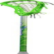 Maverik Lacrosse Twist Complete Stick, Lime