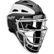 Rawlings Two-Tone Translucent Matte Hockey Style Catchers Mask, Black