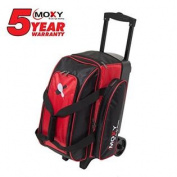 Moxy Double Roller Bowling Bag -RED