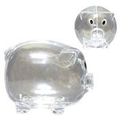 Educational Clear Kids Money Piggy Bank