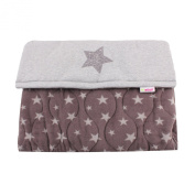 Minene Cosy Buggy Footmuff - grey star - 0-3 yrs
