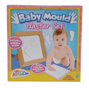 Baby Mould Impression Hand & Foot Print Kit Plaster Set / Gift Box Keepsake / Baby Shower / New Baby Gift