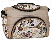 TP-47 Nappy bag Shopper Travel bag PIA from Baby-Joy 3XL Plus Size Beige Cream Comic Nappy Bag Care bag Baby bag Carrying bag
