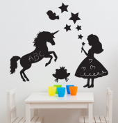 Fun to See Magic Fairy Kingdom Themed Room Stickers