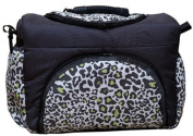 TK-29 Nappy bag KIM by Baby Joy 3XL Oversize Graphite LEO Nappy Changing Bag Baby Bag Tote Bag