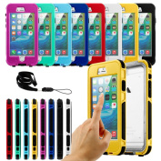Gearonic Waterproof Shockproof Durable Case Cover for iPhone 6 6S Plus