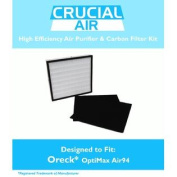 Replacement Filter Kit Designed to fit Oreck OptiMax® Air 94 Includes