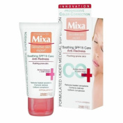 MIXA France-Soothing CC Cream SPF15-Anti Redness-Reduces Heated Sensations-50ml