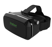 iHarbort® Google Cardboard 3D VR Virtual Reality Headset VR Glasses goggles 3D Movies and Games for 10cm - 15cm Smartphones (iPhone 6 6 Plus, Samsung Galaxy S6 etc.) - black