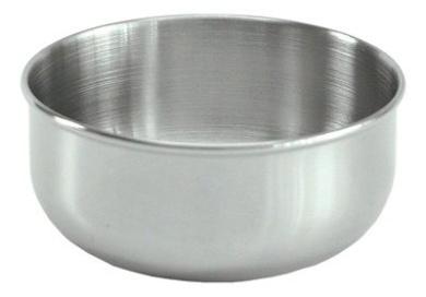 Stainless Steel Sponge Bowls, 4 x 2. Capacity: 350ml