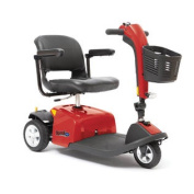 Rascal 9 Three Wheel Mobility Scooter - Red