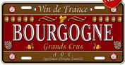 AMERICAN METAL PLATE COLLECTION FRANCE BOURGOGNE COUNTRY GREAT WINE