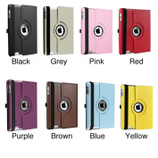INSTEN 360-degree Swivel Leather Tablet Case Cover for Apple iPad 2/ 3/ 4