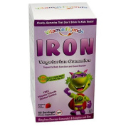 Vitamin Friends Iron Vegetarian Gummies Strawberry 60 Veggie Gummie