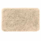 Apt 9 Fine Linen Shag Throw Rug 24x38 Comforel Beige Bath Mat Skid Resistant