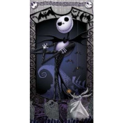The Nightmare Before Christmas Beach Towel ~ Jack Skellington & Zero ~ Can Be Used for Bath