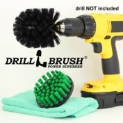 Tile and Grout Drill Brush Cordless Bathroom Power Scrubber Kit